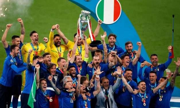 L'Italia campione d'Europa spinge l'economia e spiega perché l'Inghilterra deve lasciare l'Uefa